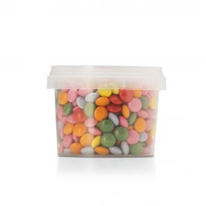 Easy baking; mii chocolate beans in assorted colours